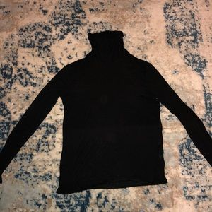 Black White House Black Market turtleneck